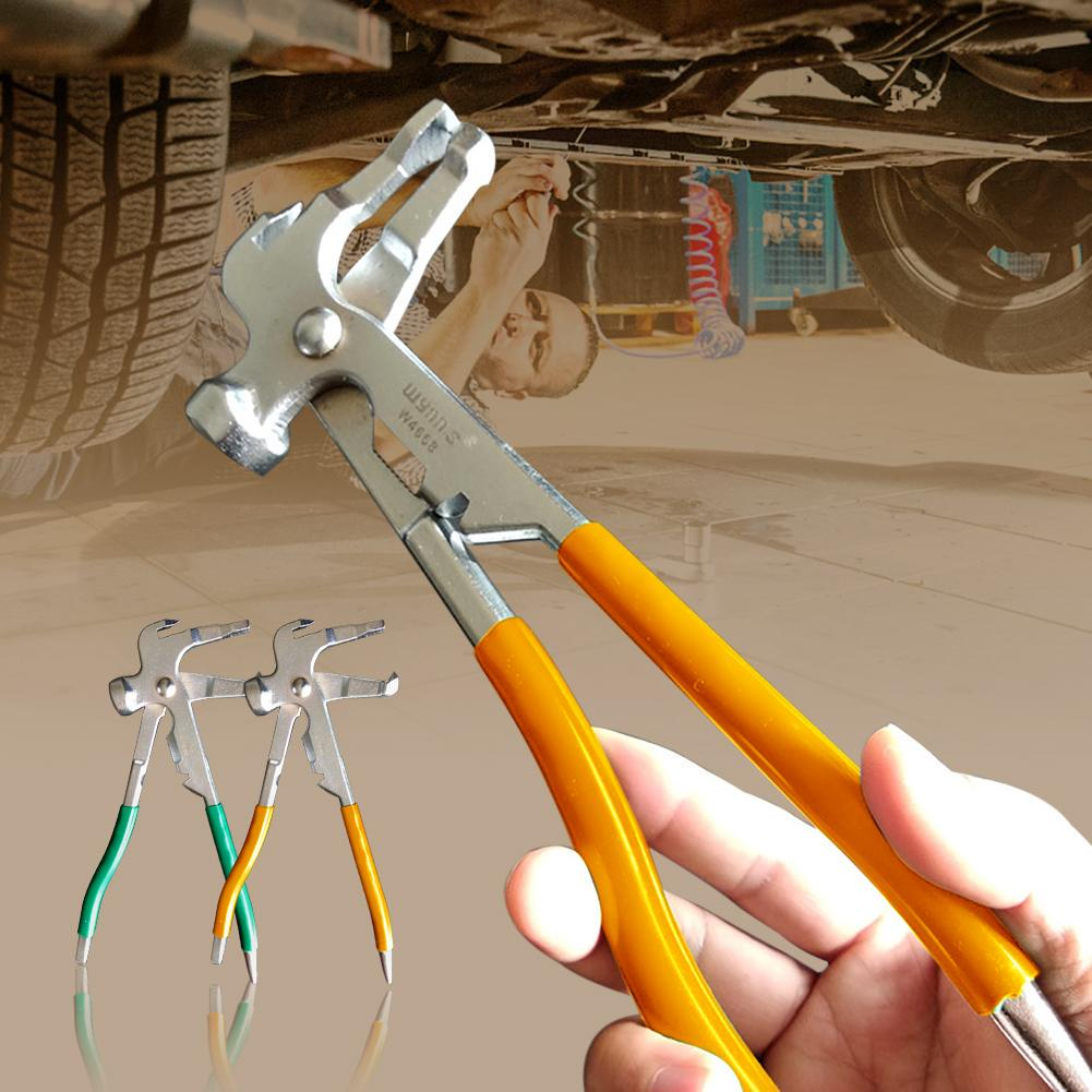 Multifunction Car Tire Remove Balance Pliers Wheel Weight Hammer Repair Tool