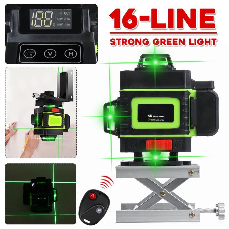 5 Line 360° Rotary Laser Level Automatic Self Leveling Meter Measure 100V-240V