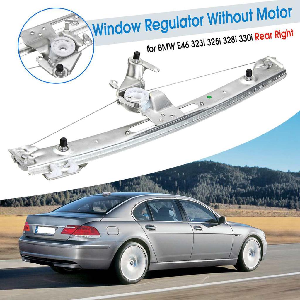New Power Window Regulator without Motor  for BMW 323i  Front Left Right