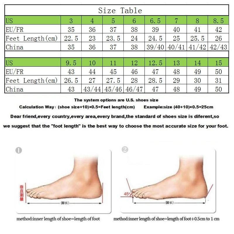 China Vs Usa Shoe Size