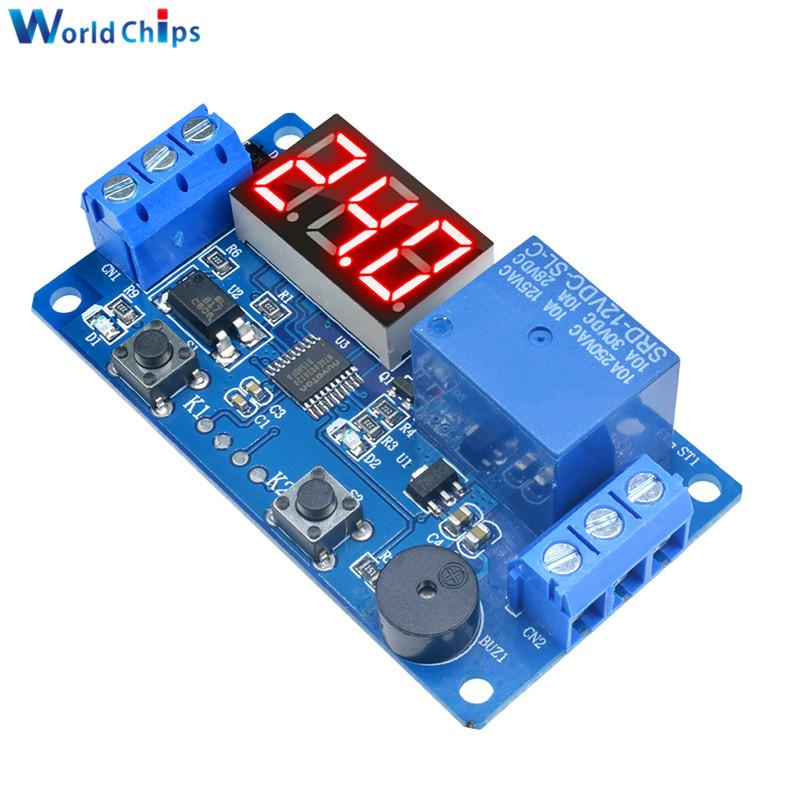 DC 9v 12v 24v Programmable Signal Trigger Cycle Delay Timer Relay Switch on//off