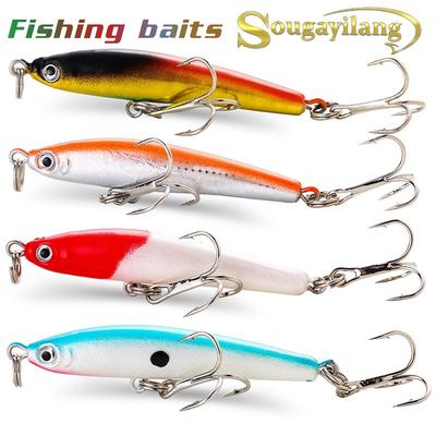 25pcs Fishing Lure Lot Minnow Hard Bait Crankbaits Metal Spoon Bass Carp Trout