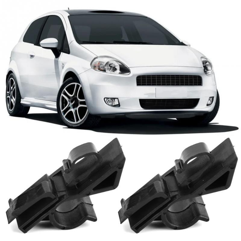 DANDANdianzi 1 Pair Vehicle Plastic Rear Parcel Shelf Clips Clip Vehicle Replacement for Grande Punto