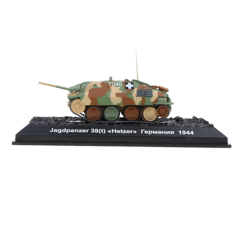 1//72 Diecast Tank German Sd.Kfz 138//2 Jagdpanzer 38t Hetzer WWII Military Model