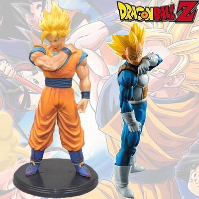 Anime Dragon Ball Z Vegeta /&Trunks Figure Father and son Figure 13CM