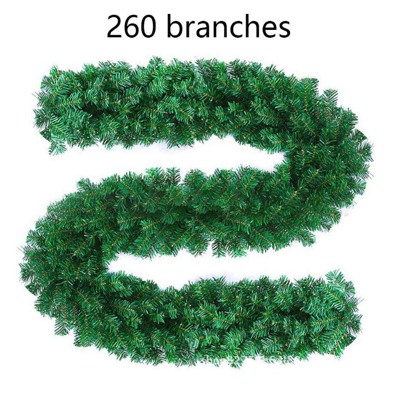 Artificial 150cm Frosted Holly Garland Premium Quality