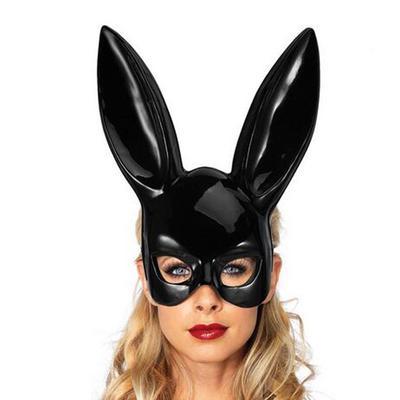 Women Bunny Rabbit Long Ears Mask Easter Cosplay Costume Fancy Dress Creative