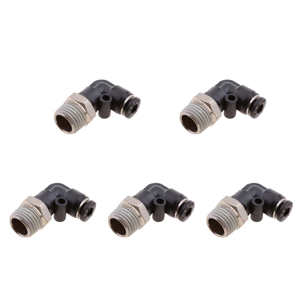 """Conector 1//2/"""" PT Rosca 9 puertos 6 formas rápido manguera de aire de bloque colector"""