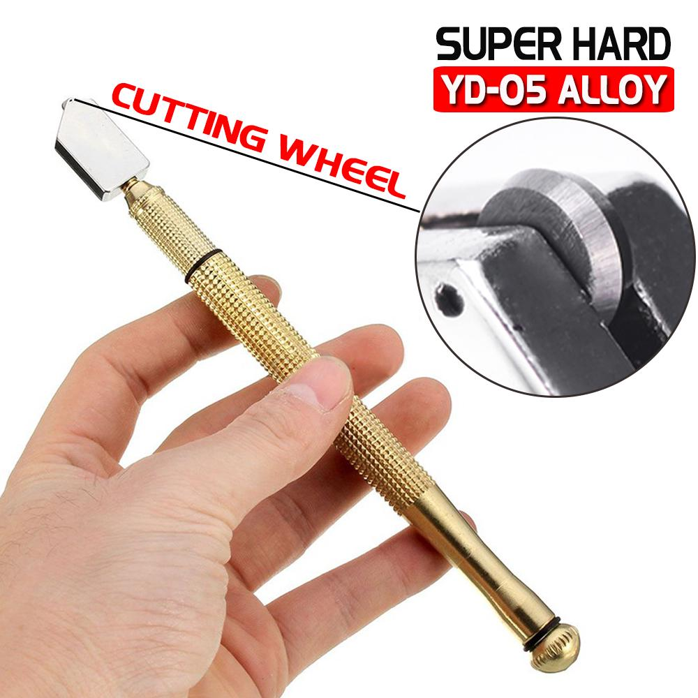 1X Diamond Glass Cutter Cutting 6-12mm Oil Feed Tool Tipped Craft Glazing Blade