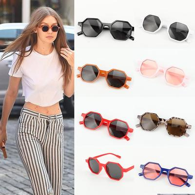 ceb50aed3f Fashion Women s Double Metal Nose Bridge Sunglasses Outdoor Driving ...