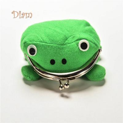 New Arrival Frog Wallet Anime Cartoon Wallet Coin Purse Manga Flannel Wallet Cute purse Naruto Coin holder