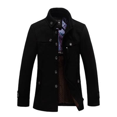 Hombres s ligero corto Moda Casual chaqueta soporte masculino ligero Collar  grande chaqueta. Comprar · -79 % 8456b1611509
