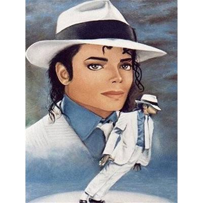 5D DIY Full Drill Diamond Painting Michael Jackson Cross Stitch Mosaic Kits BEST