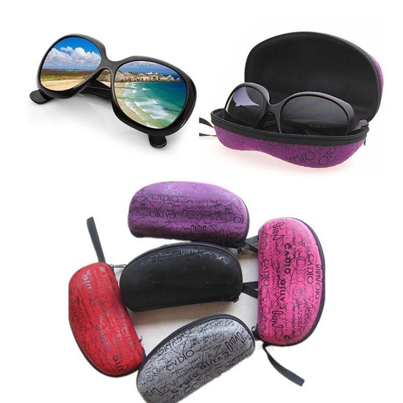 Keyboard Symbol ctrl X Glasses Case Eyeglasses Clam Shell Holder Storage Box