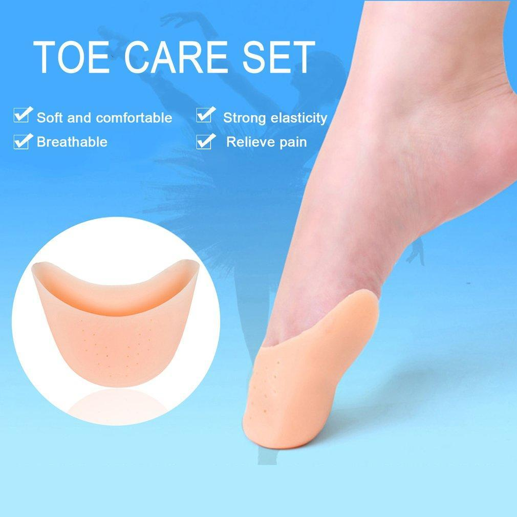 Silicone Gel Women Ballet Dance Pointe Foot Protector Cover Toe Caps Pads