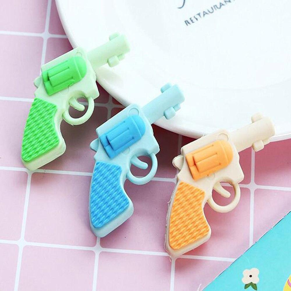 Cute Pistol Gun Bullet Eraser