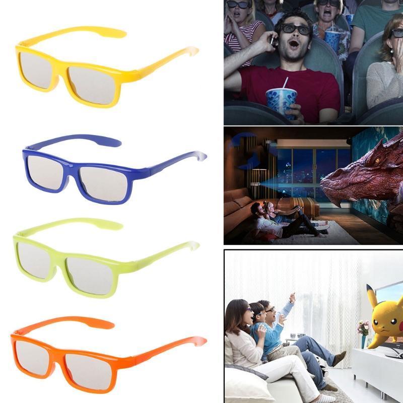 Devido à diferença entre monitores diferentes, a imagem pode não refletir a  cor real do item. Obrigado! O pacote inclui  1 X Óculos 3D Passivos  Circulares ... 1351ce1a0c