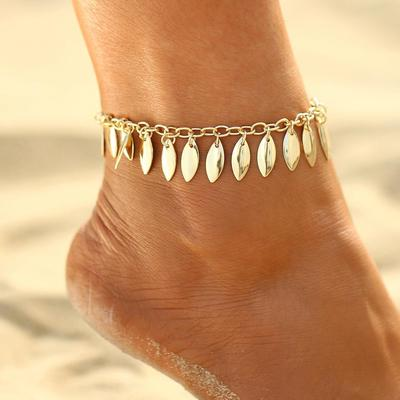 exquisite set goldplated layer chain anchor heart silver wholesale infinity turquoise anklet pearl unique anklets cross popular multi products