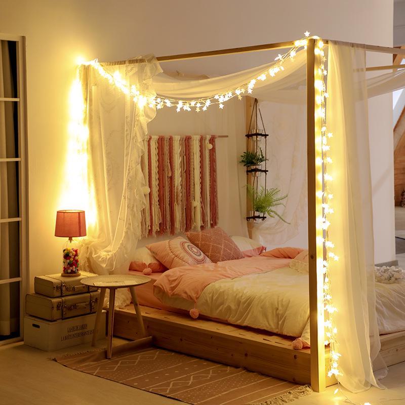 Battery LED String Fairy Lights Xmas Tree Wedding Party Home Bedroom Lamp Decor