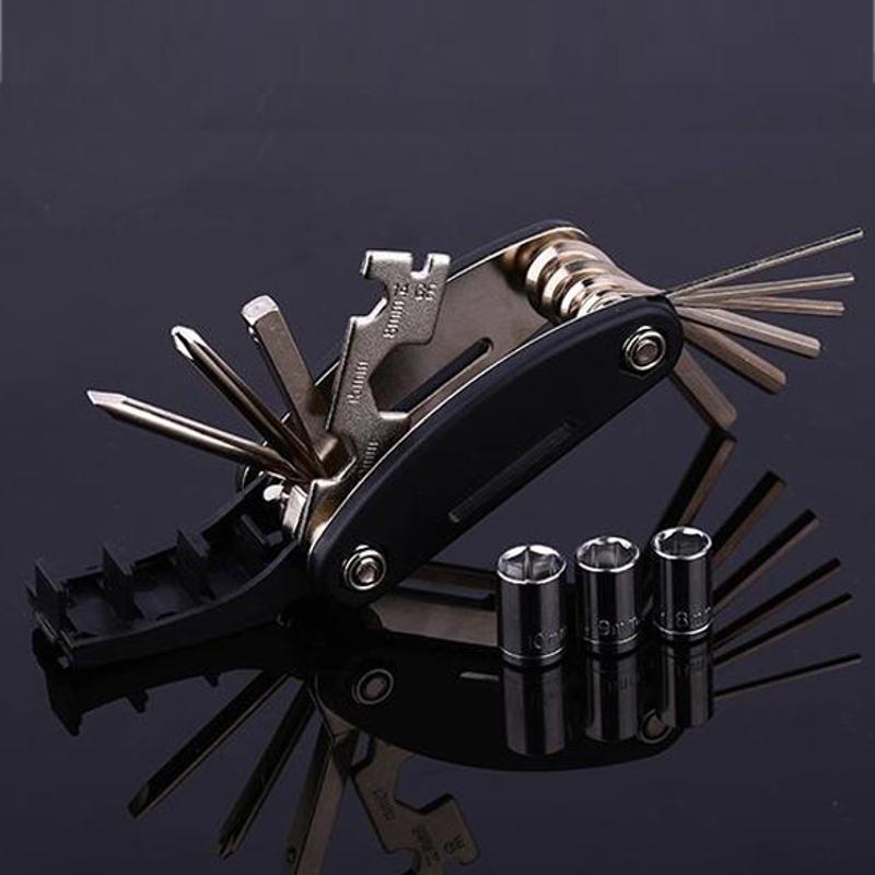 20 in 1 Steel Multi Tool Bike Multitool Bicycle Combination Repair Z1L9