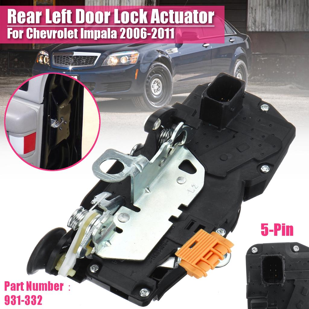 931 332 Door Lock Actuator Motor Rear Left Fit 06 11 07 Chevrolet Impala 5 Pin Buy At A Low Prices On Joom E Commerce Platform