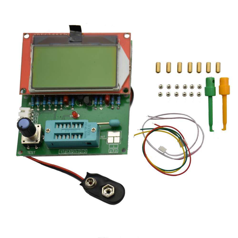 square wave genera frequency meter transistor tester// ESR GM328R 2016 EZM328