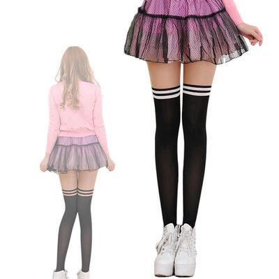 0f86c109ea1 Fashion Socks Sexy Women Girl Sring Autumn Over the Knee Socks Cotton  Stockings Student Stockings