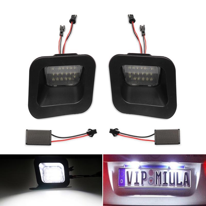 2x License Plate Rear Bumper Lights LED Lamps 12V For Dodge Ram 1500//2500//3500