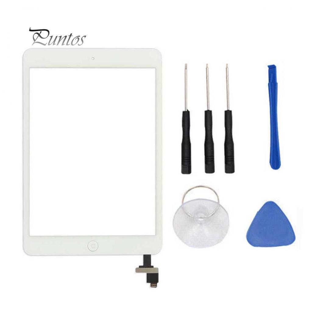 Home Button WHITE Tools Pry Bar Ipad Mini Touch Glass Digitizer Screen IC Chip