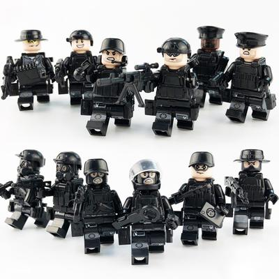 Tank Green G1 Tactical Belt Army Police SWAT for LEGO brick military minifigures