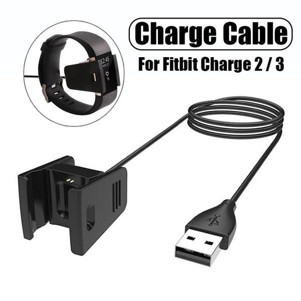 For Fitbit Versa 2 100CM Fast Charging Dock Cradle Wristbands USB Charger Cable