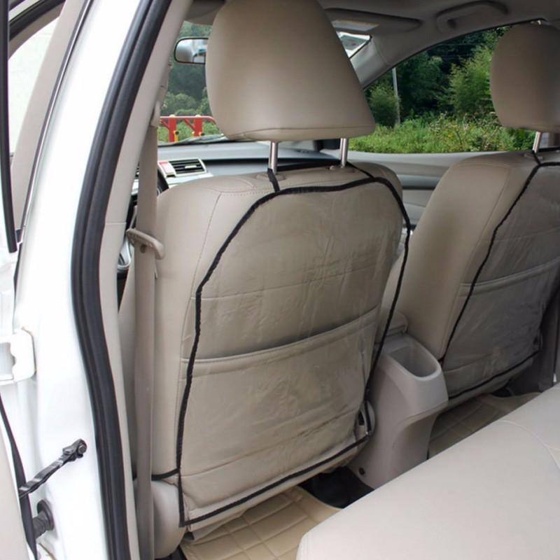1pc Ideal Car Seat Back Rear Protector Clear PVC Anti Stain Mud Cover Mat Pad US