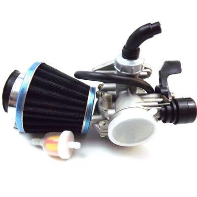 1 Set PZ19 Choke Carburetor with Fuel Filter and 35mm Air Filter for 50 90  110cc ATV Pit Bike Honda