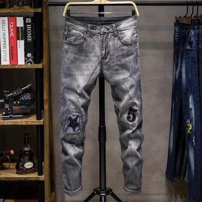 Jeans De Europa Y De America Los Hombres Pantalones Vaqueros Del Agujero Comprar A Precios Bajos En La Tienda En Linea Joom