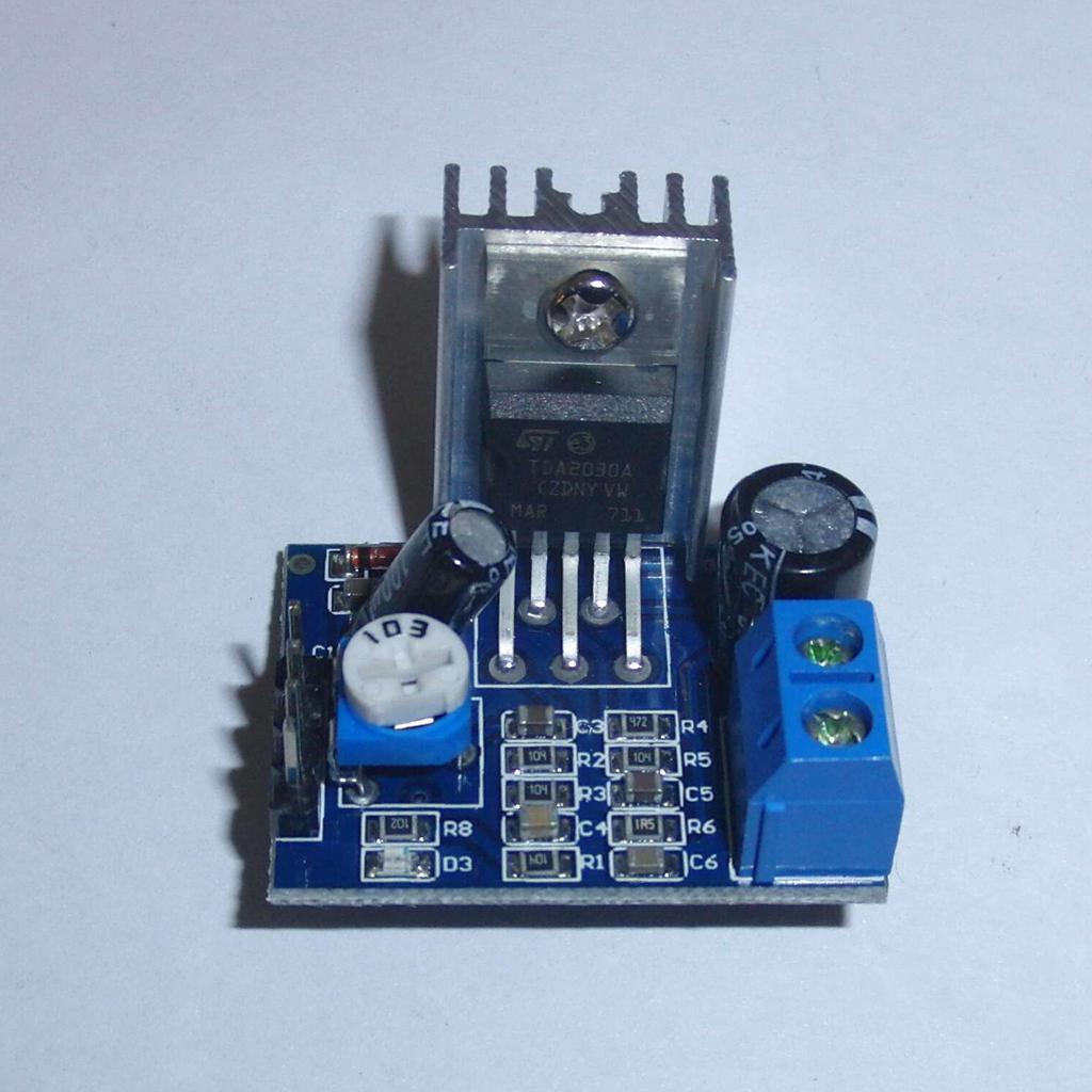 Placa del módulo Amplificador Audio TDA2030A 18W 5-12V