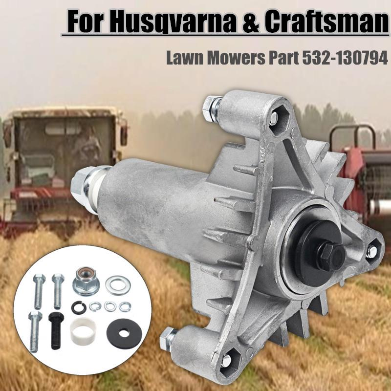 Spindle Assembly For Husqvarna and Craftsman Ride On Lawnmower Part 532-130794
