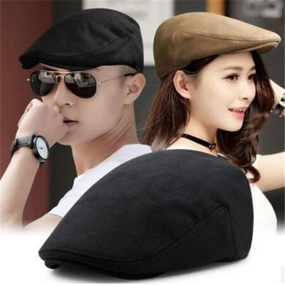 e4ab52ca6e6 Fashion Pleated Layers Beret Beanie Hat Peaked Brim Casual Summer ...