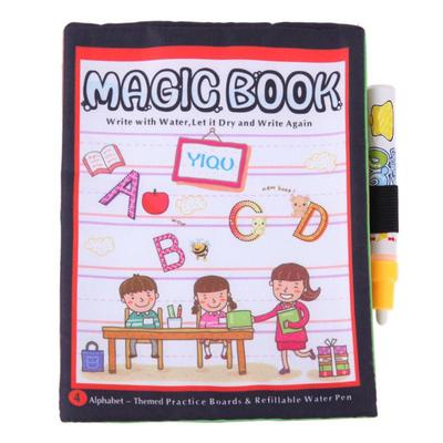 Kids Letter Printed Coloring Magic Book Painting Doodle Water