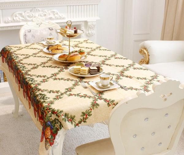 Copritavolo Da Cucina.Tovaglia Festa Di Natale Cenare Copri Tavolo Da Cucina Protettore Natale