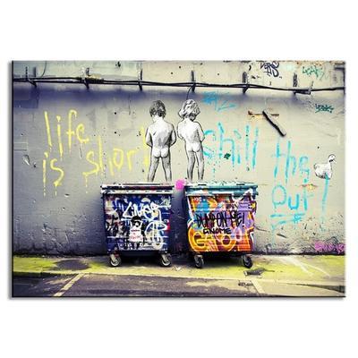 Nowoczesne Obrazy Na Sciane Banksy Graffiti Art Printed Home Decor
