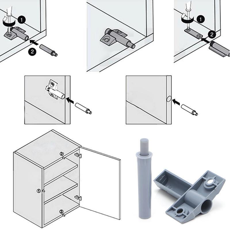10 x küchenschrank tür schublade weich ruhig schließen