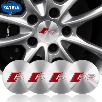 Set of 4 trim stickers for wheel center hub caps covers 60 mm self adhesive MercedesBenz emblems logo