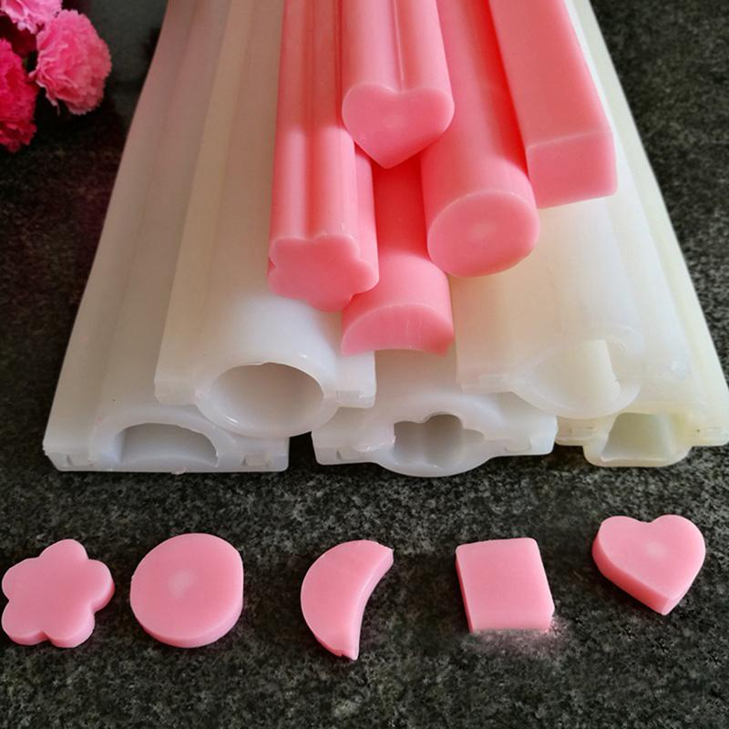 Hand Soap Tube Model Cold Process Soap Dye Model Long-Cylinder Dolphin Shape Silicone Mold