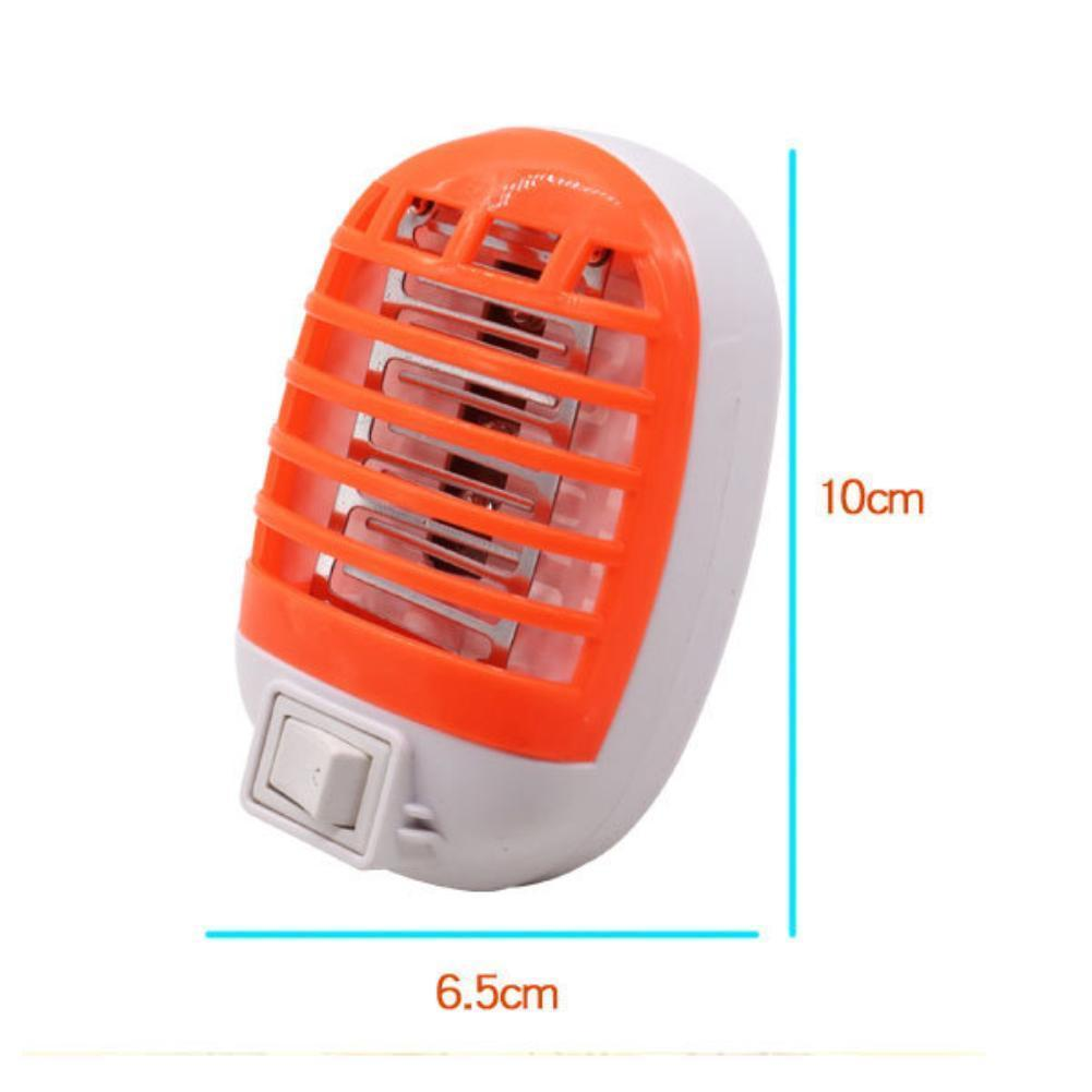 Led Electric Mosquito Fly Bug Insect Trap Zapper Killer Night Lamp Swatter Electronics Hobby 1 Of 7