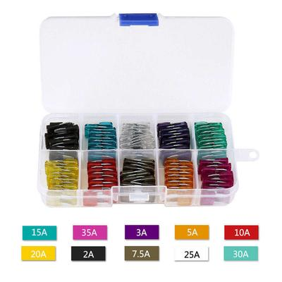 New 120PC Trucks SUV/'S Auto Fuses Assorted Color Coded Car Fuse