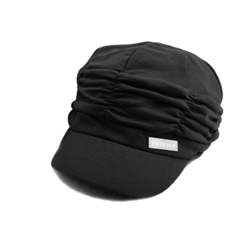 4afe4226161 Fashion Pleated Layers Beret Beanie Hat Peaked Brim Casual Summer Sun Cap-buy  at a low prices on Joom e-commerce platform