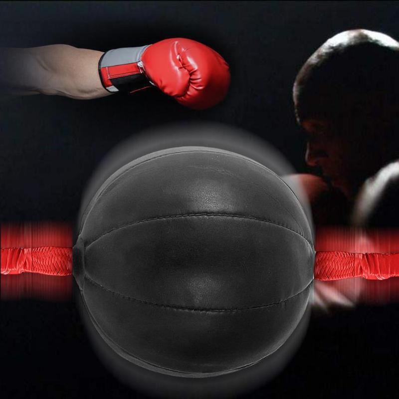 Sport Gym Fitness MMA Boxing Punching Ball Speed Training Pear Bag Pu Leather