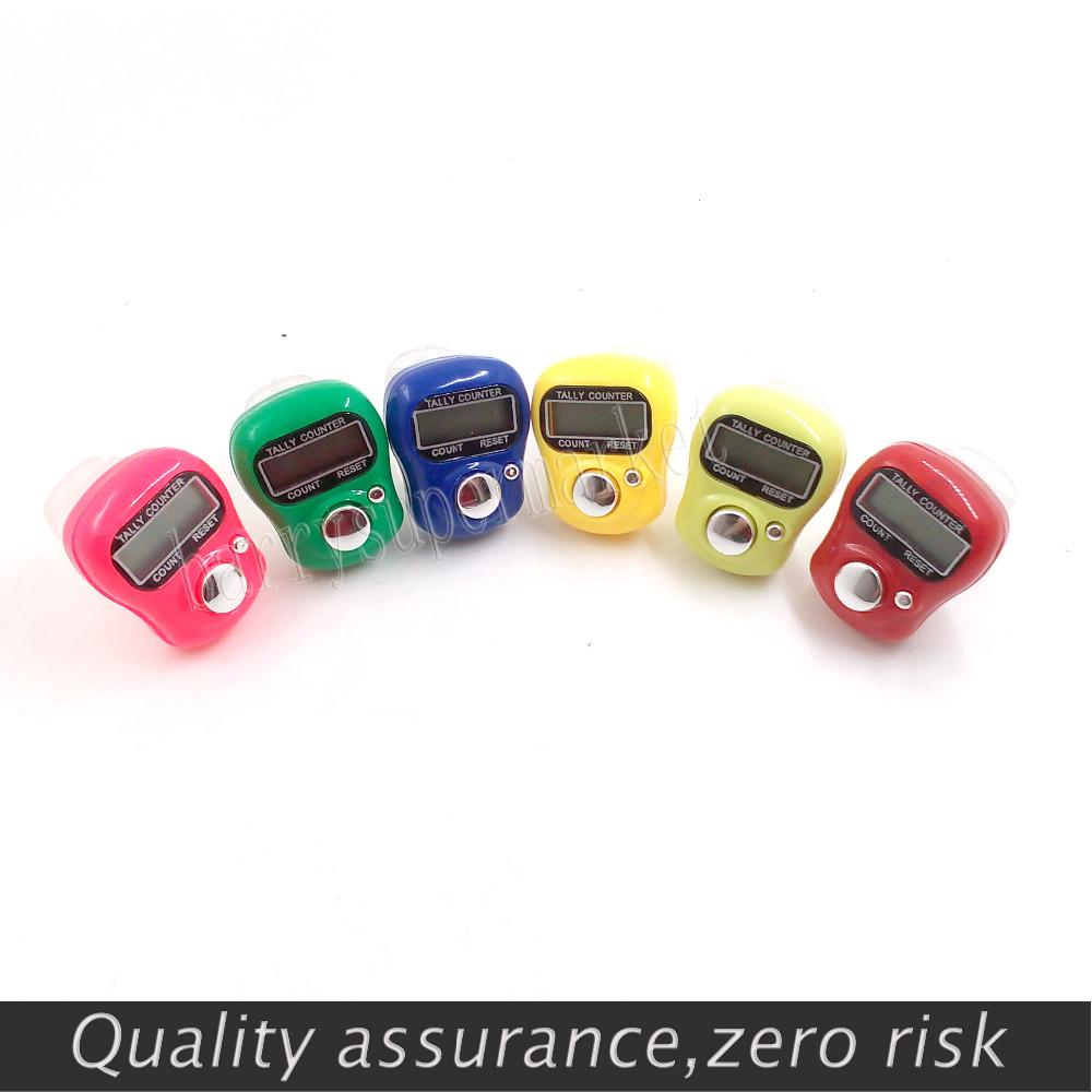 10 Pcs Number Knitting Tally Number Counter Timer Counting Manual Palm Cliker