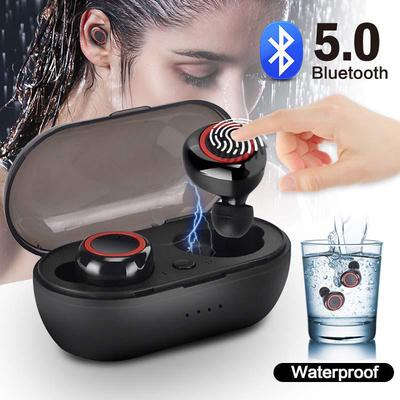 A10 True Wireless Bluetooth Headphones With Charge Box Waterproof Sports Headset