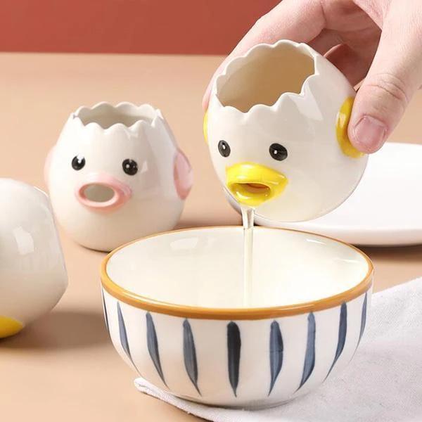 Food-grade Egg White Yolk Separator Tool Egg Cooking Baking Kitchen Tools Gadget
